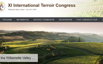 The XI International Terroir Congress will take place in Oregon (USA)